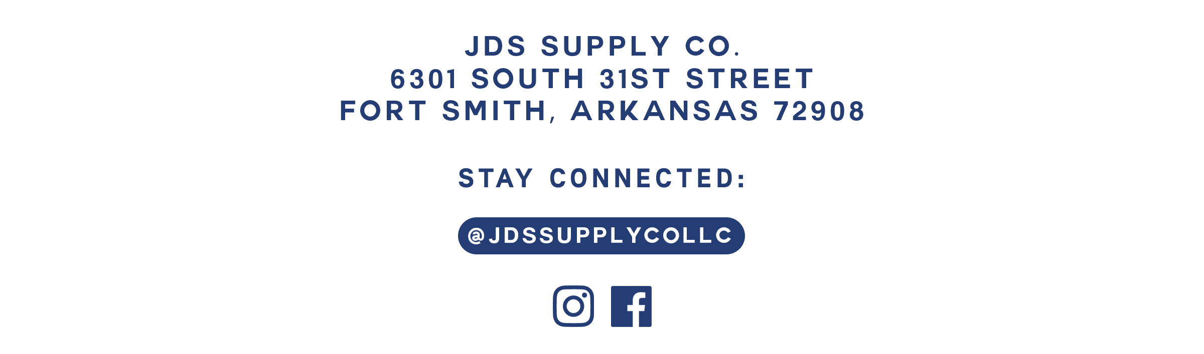 CONTACT JDS SUPPLY